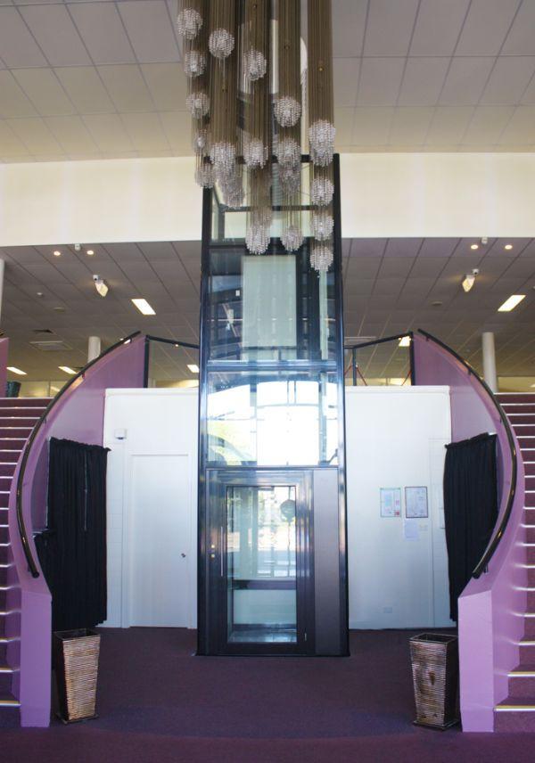 Striking Grand Entrance