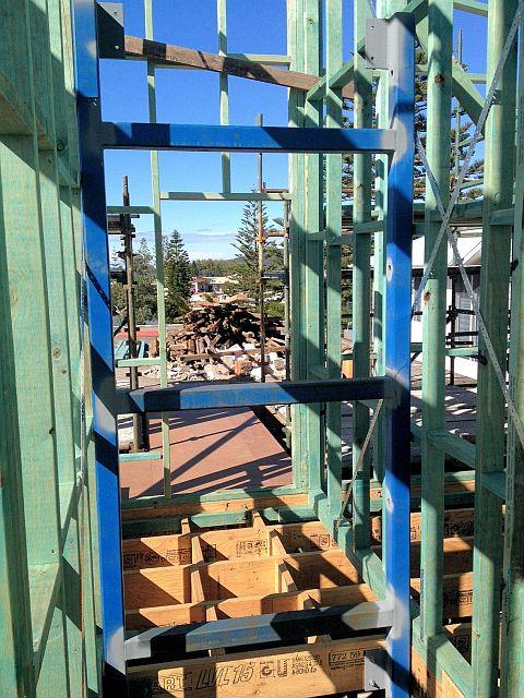 Examples of shaft load bearing walls
