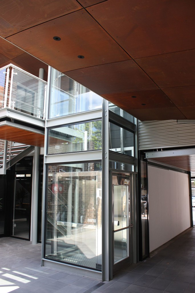 Options To Weather Protect An Outdoor Elevator