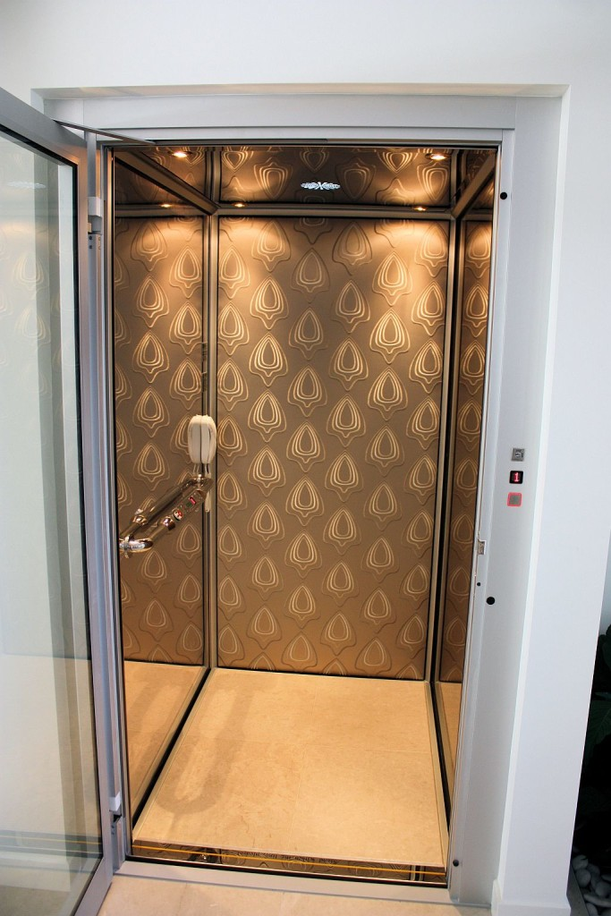 How to personalize an elevator cabin home elevators Elevator cabin design