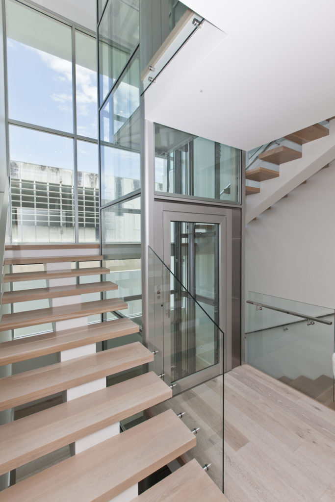 How To Install An Elevator With Stairs Wrapping Around It