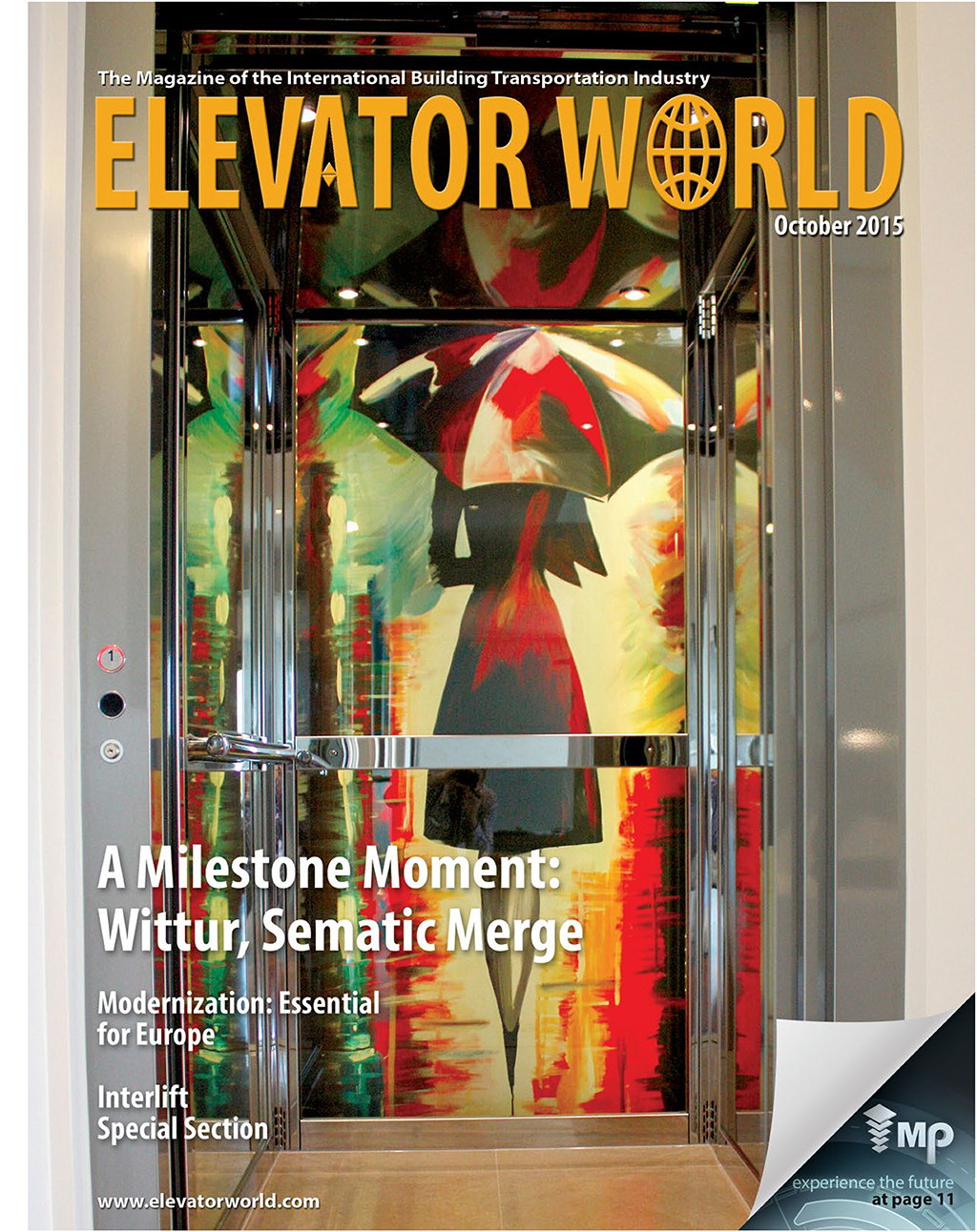 Second Time Cover Of Elevator World