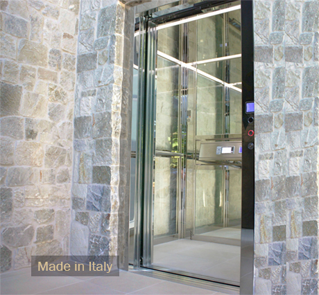 Residential elevators home elevator ca la elevator for Small elevators for homes