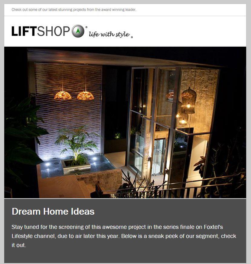 Dream Home Ideas – Newsletter