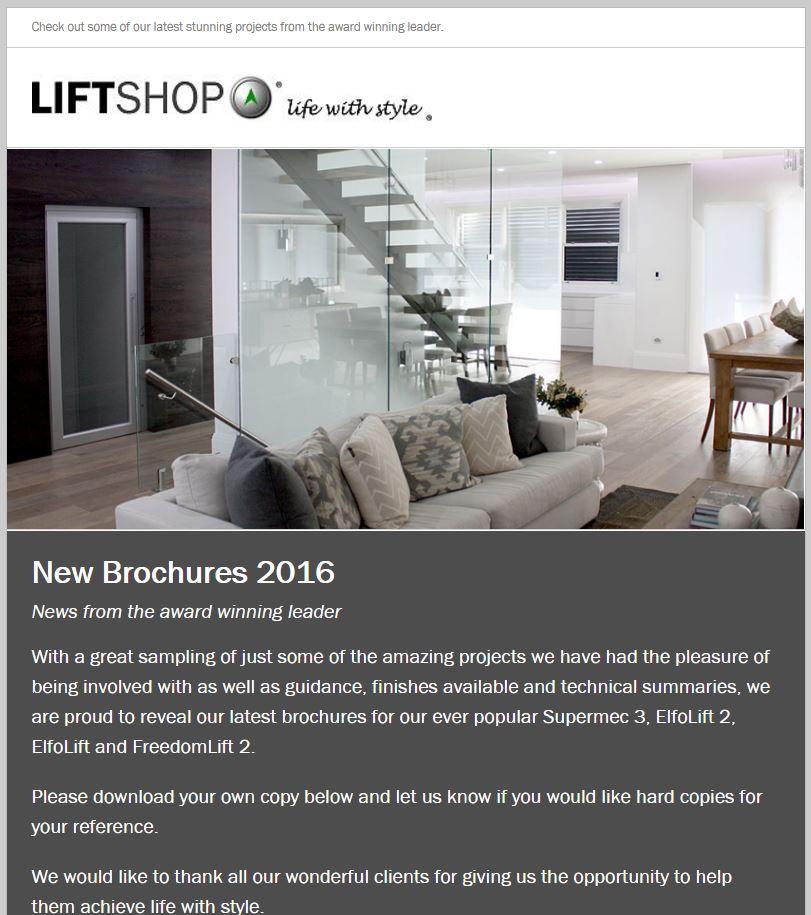 New Brochures 2016