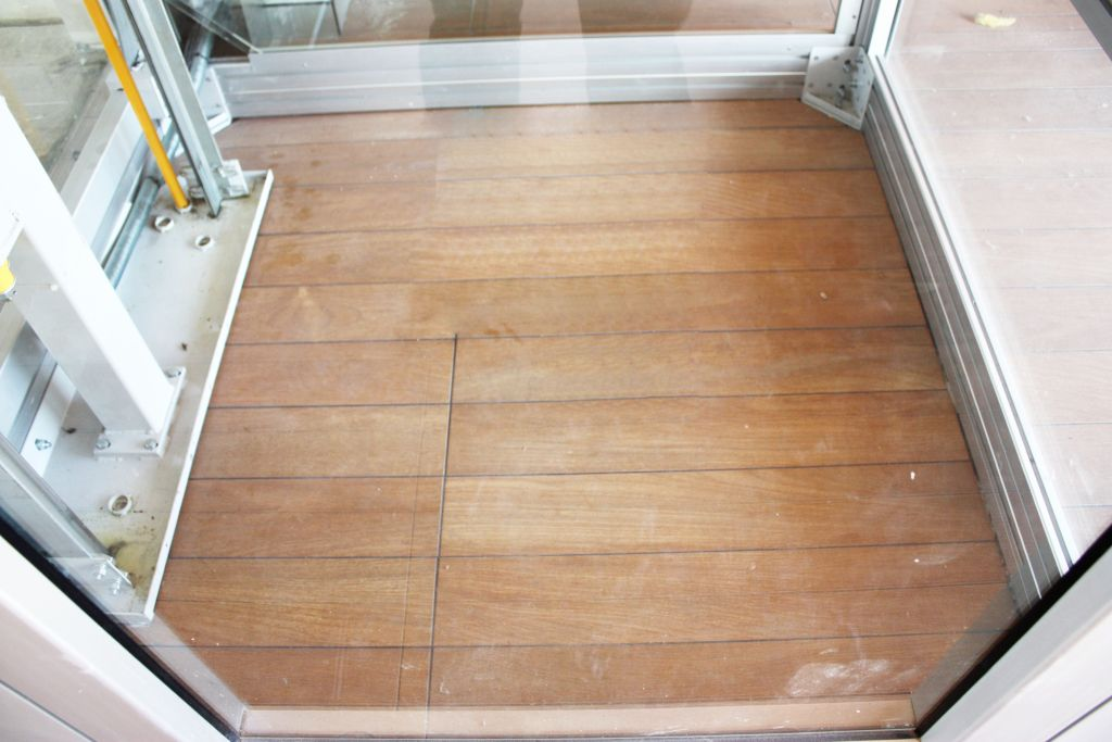 How to finish a pit floor ?