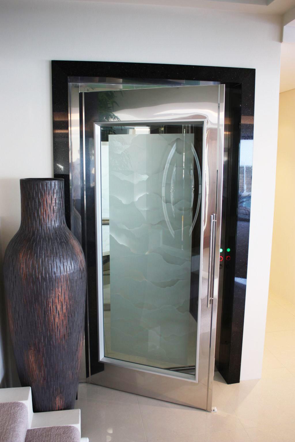 Stainless Steel Hinged Doors