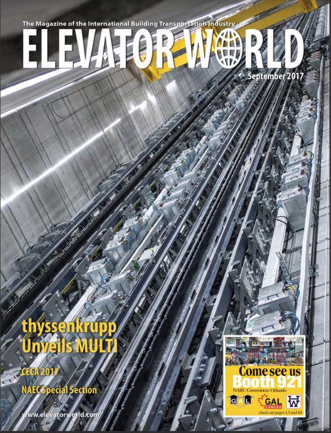 Elevator Boutique Features in Elevator World Magazine – 'Maximum Appeal'